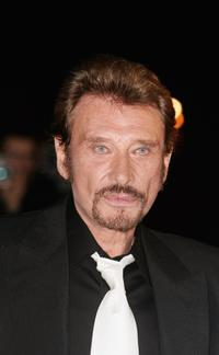 Johnny Hallyday at the NRJ Music Awards.
