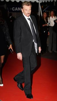 Johnny Hallyday at the 2008 NRJ Music Awards.