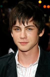 Logan Lerman at the Los Angeles premiere of