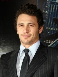 James Franco at the world premiere of