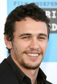 James Franco at the 22nd Annual Film Independent Spirit Awards.