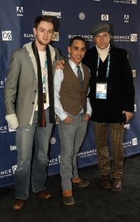 Matt O'Leary, Ray Santiago and Eric Schmid at the premiere of