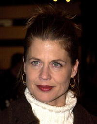 Linda Hamilton at the premiere of