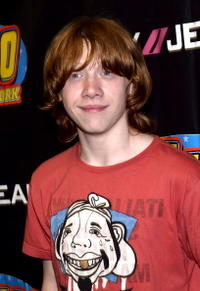 Actor Rupert Grint at Madison Square Garden during the Z100 Zootopia 2004 concert in N.Y.