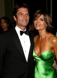 Harry Hamlin and wife actress Lisa Rinna at the 17th Annual Mercedes-Benz Carousel of Hope cocktail party.