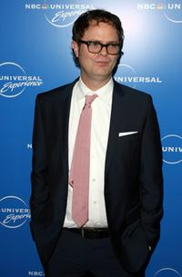 Rainn Wilson at the NBC Universal Experience.