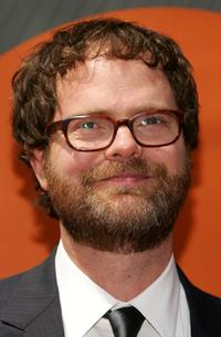 Rainn Wilson at the NBC Upfronts.