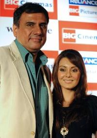 Boman Irani and Minissha Lamba at the promotion of