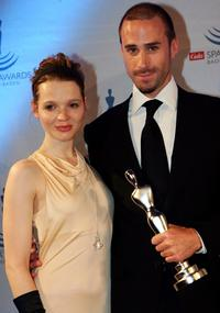 Karoline Herfurth and Joseph Fiennes at the Gala Spa Awards 2007.