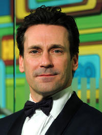 Jon Hamm at the HBO's Post 2011 Golden Globe Awards party.
