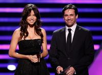Adriana Lima and Jon Hamm at the 2008 ESPY Awards.
