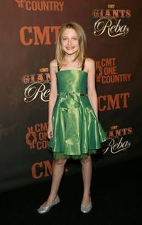 Dakota Fanning at the Country Music Television's CMT Giants.