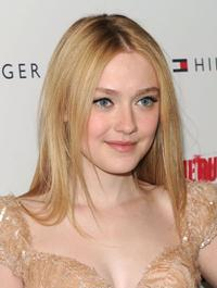 Dakota Fanning at the New York premiere of