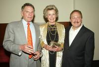Ted Hartley, Dina Merrill and Joe Nicolo at the after party of