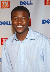 Edwin Hodge at the TV Guide's Second Annual Emmy after party.