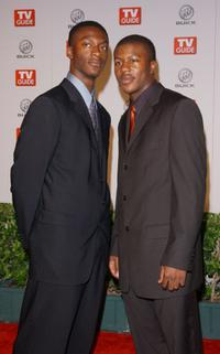 James and Edwin Hodge at the first TV Guide Primetime Emmy Party.