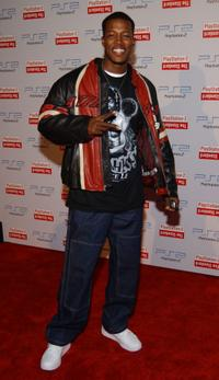 Flex Alexander at the Playstation 2 Hotel grand opening.