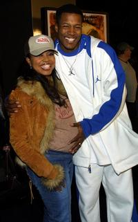 Shanice Alexander and Flex Alexander at the premiere of