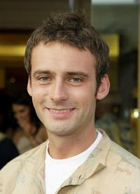 Callum Blue at the private cocktail reception of the premiere of