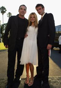 Mandy Patinkin, Ellen Muth and Callum Blue at the Showtime TCA (Television Critics Association) Press Tour.