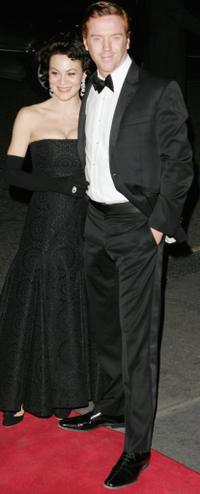 Helen McCrory and Damian Lewis at the Laurence Olivier Awards.