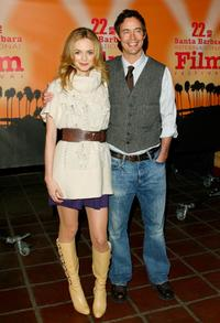 Heather Graham and Tom Cavanagh at the screening of