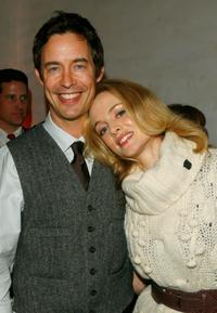 Tom Cavanagh and Heather Graham at the screening of