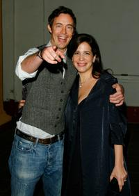 Tom Cavanagh and Director Sue Kramer at the screening of