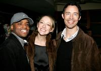 Larenz Tate, Judy Greer and Tom Cavanagh at the opening night of