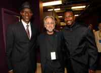 Keb' Mo', Neil Portnow and Chris Tucker at the Thelonious Monk Institute of Jazz.