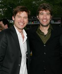 Nikolaj Coster-Waldau and Craig Bierko at the Fox Network 2007 Programming Presentation.
