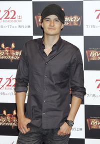 Orlando Bloom at the Tokyo promo of