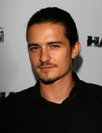Orlando Bloom at the premiere of