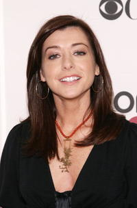 Alyson Hannigan at the 33rd Annual People's Choice Awards nominations.