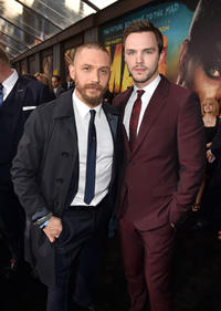 Tom Hardy and Nicholas Hoult at the California premiere of