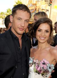 Tom Hardy and Charlotte Riley at the premiere of
