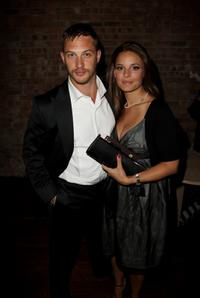 Tom Hardy and Guest at the after party of the UK premiere of