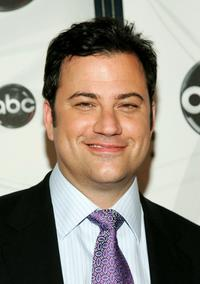 Jimmy Kimmel at the ABC Upfront presentation.