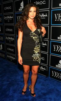 Cerina Vincent at the Vegas Magazine 3rd Anniversary Party.