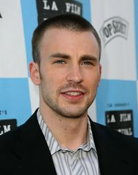 Chris Evans at the Los Angeles Film Festival Closing Night screening of