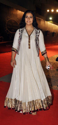 Kajol at the Global Indian Film and Television Honors Awards 2011.