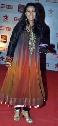 Kajol at the Star Screen Awards in Mumbai.