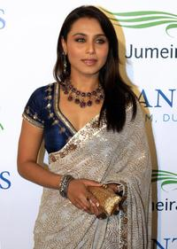 Rani Mukherjee at the official grand opening party for the Atlantis Hotel.
