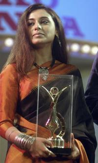 Rani Mukherjee at the 66th Bengal Film Journalists Association Award ceremony.