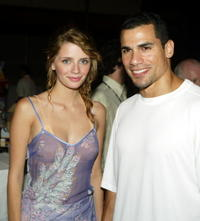 Mischa Barton and Franky G. at the 2004 Fox Network TCA Summer Party.