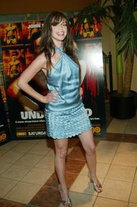 Vanessa Ferlito at the premiere of