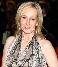 J.K. Rowling at the Orange British Academy Film Awards 2011 dinner in England.