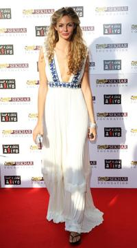 Tamsin Egerton at the Alicia Keys Keep a Child Alive Black Ball.