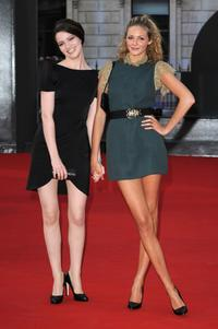 Talulah Riley and Tamsin Egerton at the Royal Academy of Arts Summer Exhibition.