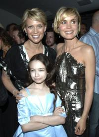 Laurie Holden, Jodelle Ferland and Radha Mitchell at the premiere of